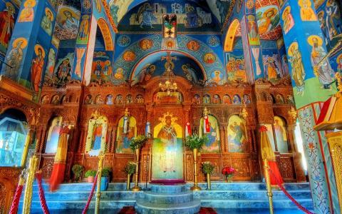 欧洲教堂风光