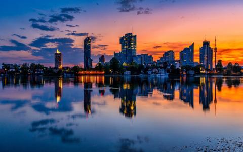 风景优美的德国多瑙河