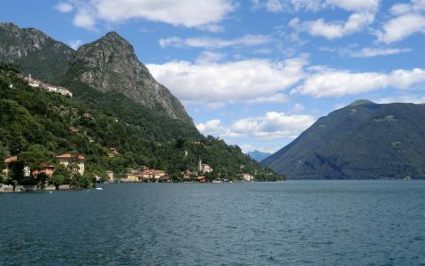 风景如画的瑞士卢加诺