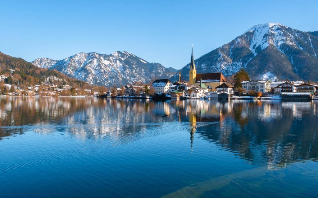 德国巴伐利亚的优美风景
