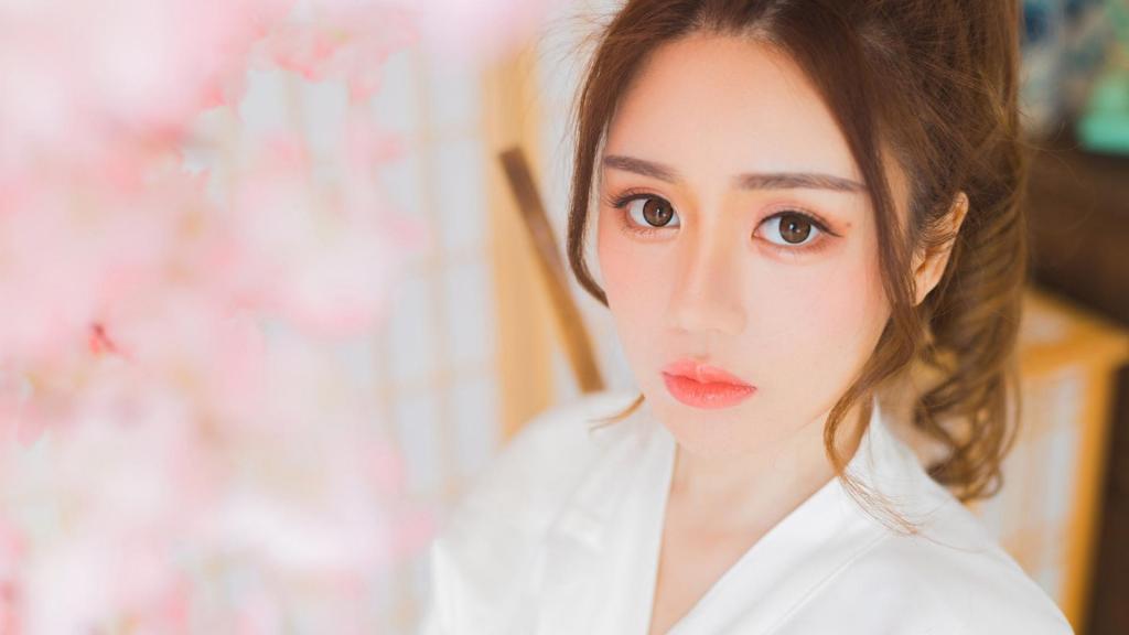 日本甜美女孩迷人写真