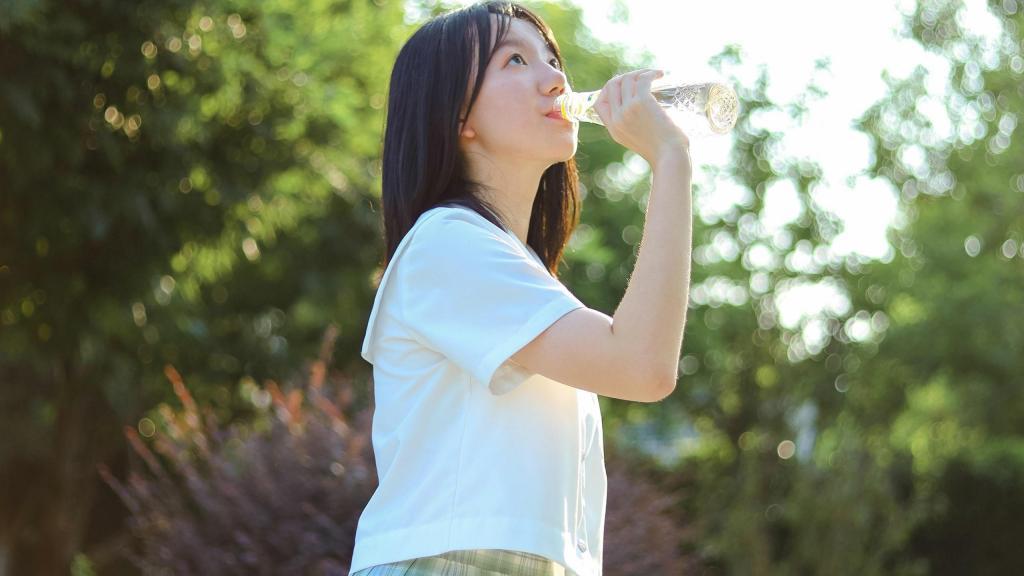 夏日jk制服美女写真