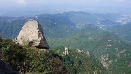 中国安徽省九华山风光