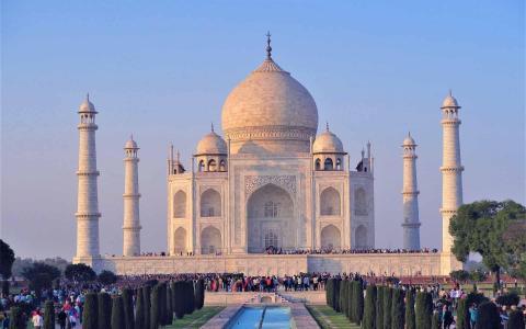 印度著名古建筑泰姬陵
