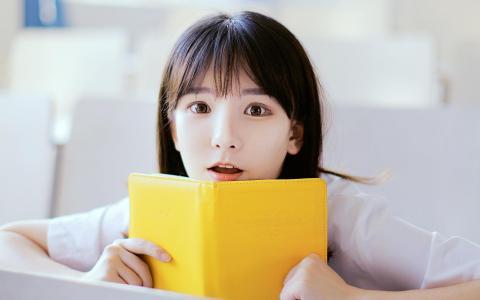 清纯女神校园俏皮小清新写真
