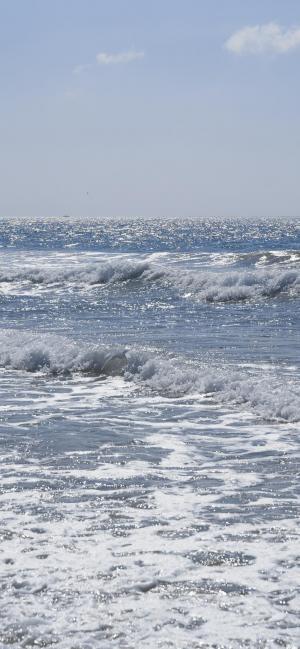蔚蓝色大海风景