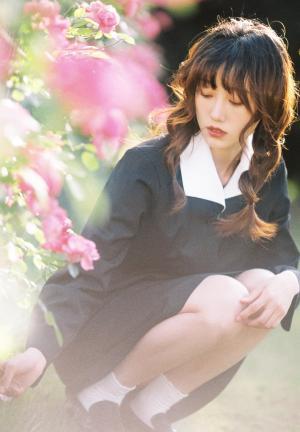 清新甜美日系小姐姐