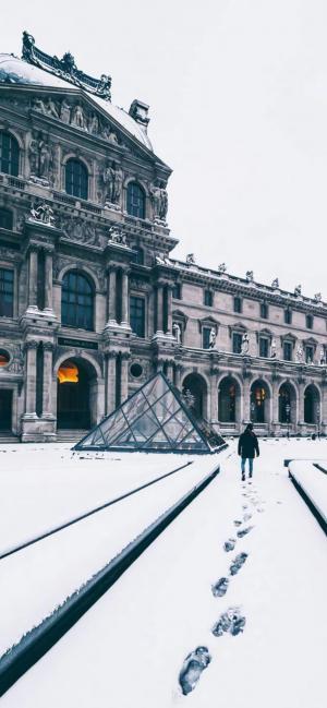 冬日唯美雪景