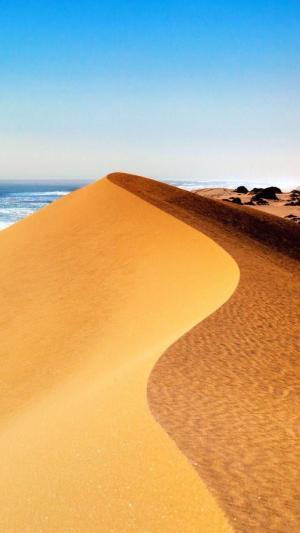 一望无际的沙漠