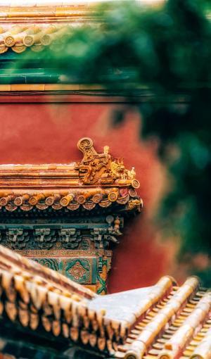 北京故宫博物院内景
