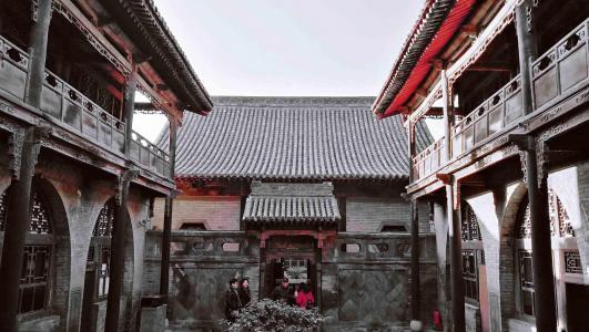 传统文化特色建筑王家大院