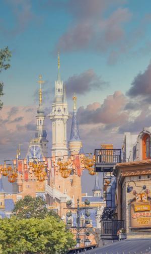 梦幻的上海迪士尼乐园