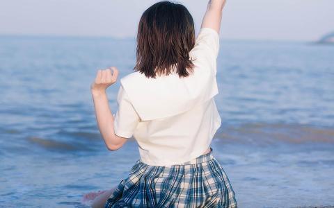 清纯jk制服美女甜美动人写真