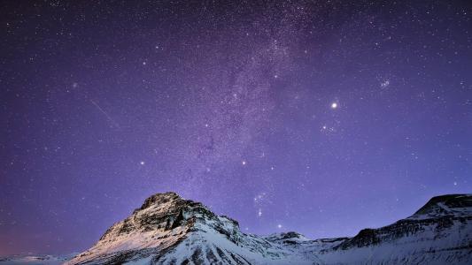 梦幻唯美的星空美景