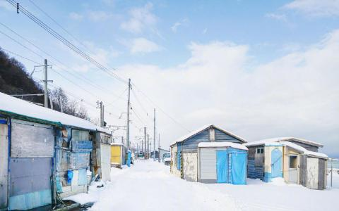 日本唯美雪景自然景色
