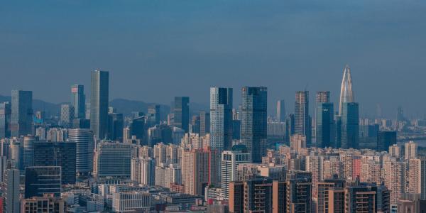 深圳的城市风光