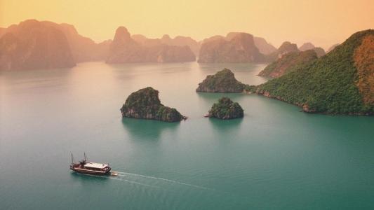 越南唯美自然风光
