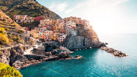 意大利五渔村优美风光