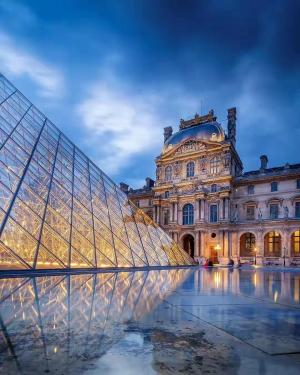 浪漫的法国巴黎