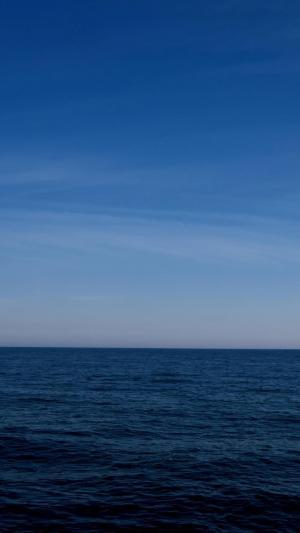 唯美的大海沙滩风光