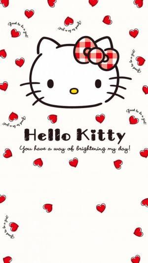 可爱粉色系helloKitty凯蒂猫