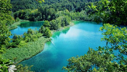 普利特维采湖国家公园风景