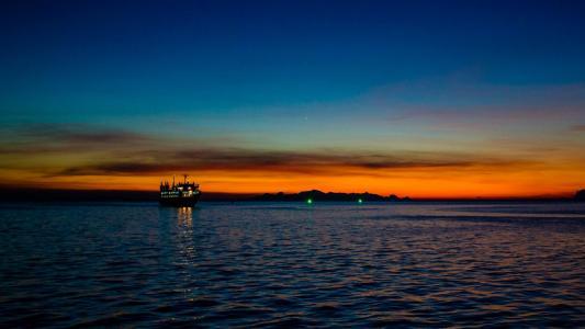 泰国苏梅岛傍晚美景