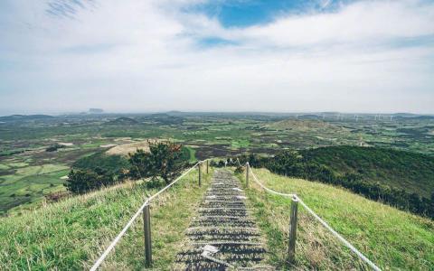 韩国济州岛宜人景色