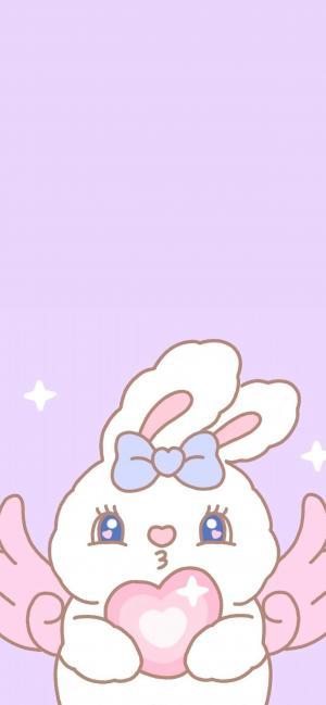 少女心十足的可爱小兔子