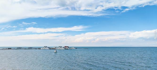 青海湖清新景色