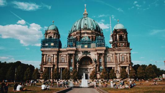 德国柏林大教堂景色