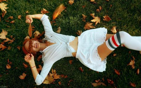 欧美模特迷人气质写真