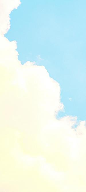 如棉花糖般的云朵