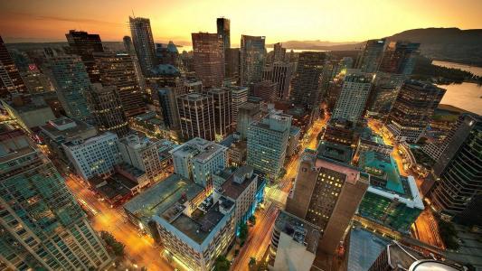 唯美绚丽城市夜景